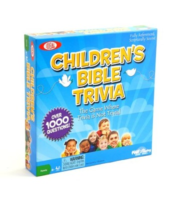 Children's Bible Trivia Game   -