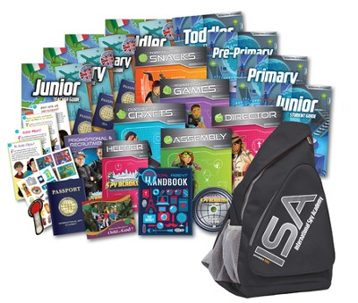 International Spy Academy VBS Starter Kit  -