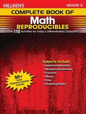 Milliken's Complete Book of Math Reproducibles Grade 3  -