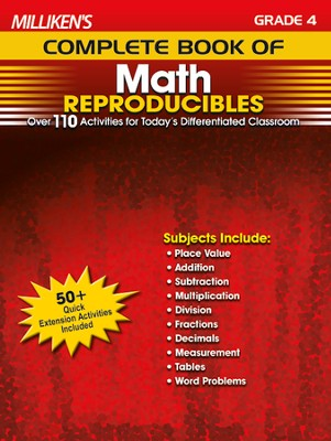 Milliken's Complete Book of Math Reproducibles Grade 4  -