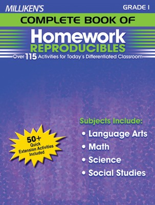 Milliken's Complete Book of Homework Reproducibles Grade 1  -