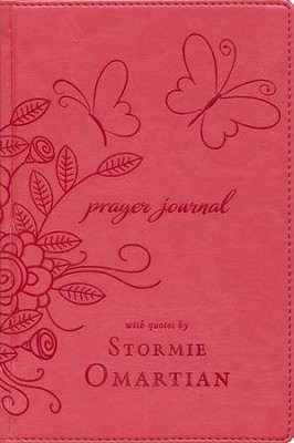 Prayer Journal: With Quotes by Stormie Omartian   -     By: Stormie Omartian