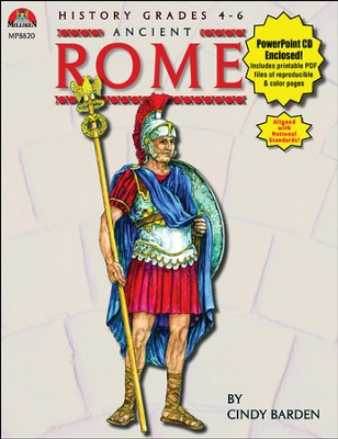 Ancient Rome Book and PowerPoint CD  -