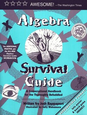 Algebra Survival Guide: A Conversational Handbook for the Thoroughly Befuddled  -     By: Josh Rappaport