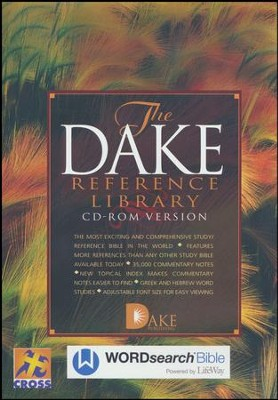 The Dake Reference Library on CD-ROM   -