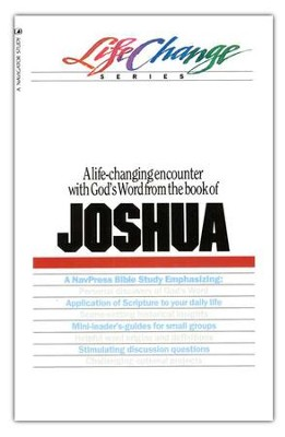 Joshua, LifeChange Bible Study Series  -     By: Hinckley