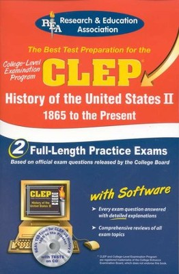 CLEP History of the United States 2: 1865 to the Present w/CD-ROM  -     By: REA