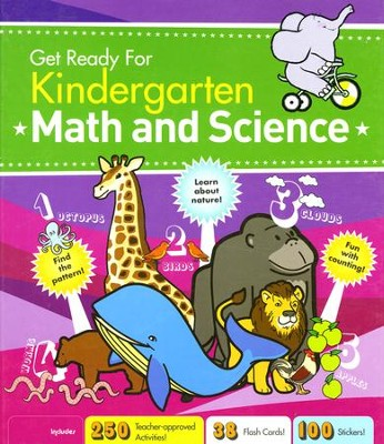 Get Ready For Kindergarten Math and Science   -     By: Elizabeth Van Doren