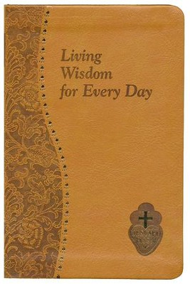 Living Wisdom for Every Day, Imitation Leather, Brown  -     By: Bennet Kelley