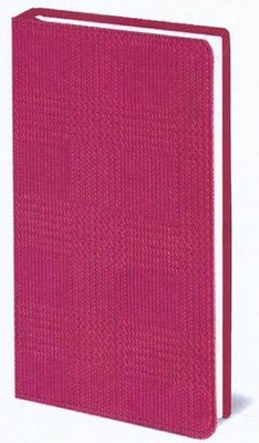 The Message Compact Bible--soft leather-look, textured pink  -     By: The Navigators