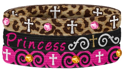 Princess Stretch Bracelets, Set of 3  -