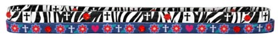 Zebra Cross Headbands, Set of 2  -