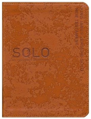 KJV SOLO New Testament: An Uncommon Devotional  -