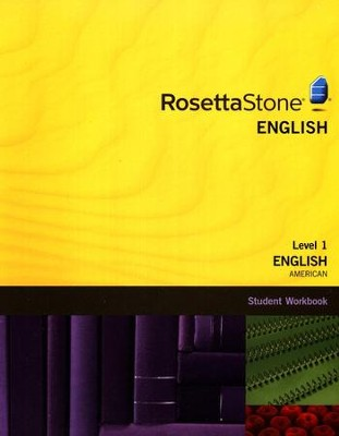 Rosetta Stone American English, Level 1, Version 3 Workbook   -