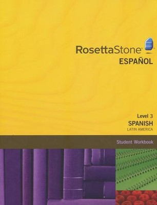 Rosetta Stone Latin American Spanish Level 3, Version 3 Workbook   -