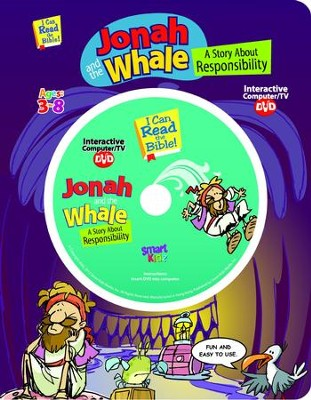 Jonah And The Whale with Interactive Computer DVD  -     By: Ron Berry     Illustrated By: Chris Sharp