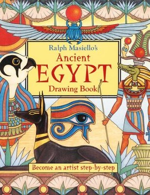 Ralph Masiello's Ancient Egypt Drawing Book   -     By: Ralph Masiello