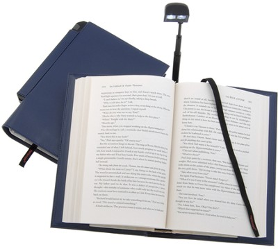 Periscope(R) Bookcover with Light, Paperback, Blue   -
