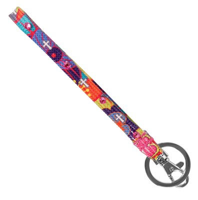 Colorful Crosses Wrist Strap  -