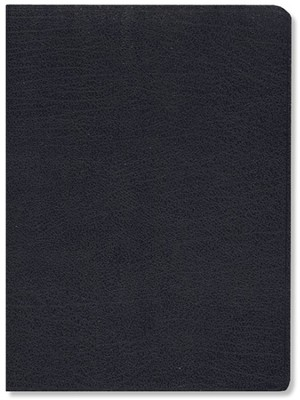 NIV Life Application Study Bible, Large Print, Bonded leather, Navy blue 1984  -