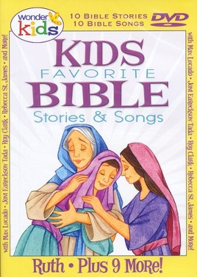 Kids Favorite Bible Stories & Songs: Ruth   -     By: Wonder Kids