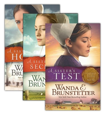 Sisters of Holmes County Series, Vols. 1-3 (rpkgd)   -     By: Wanda E. Brunstetter