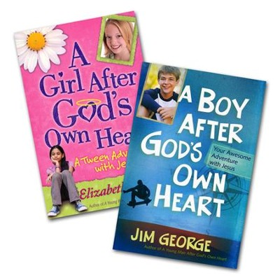 A Girl After God's Own Heart/A Boy After God's Own Heart, 2 Volumes  -     By: Elizabeth George, Jim George