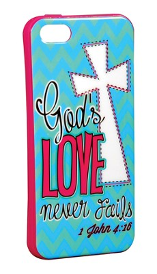 Love Never Fails iPhone 5/5S Case  -