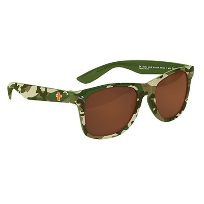 Be Still and Know, Camo Cross Son Shades  -