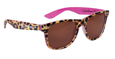 Faith, Hope, Love, Leopard Son Shades  -