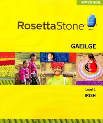Rosetta Stone Gaelic Irish Level 1 with Audio Companion Homeschool Edition, Version 3  -