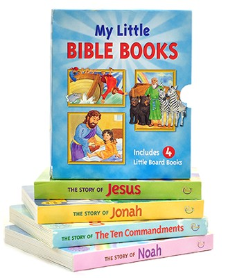 My Little Bible Books Boxed Set  -     By: Patricia A. Pingry     Illustrated By: Kelly Pulley