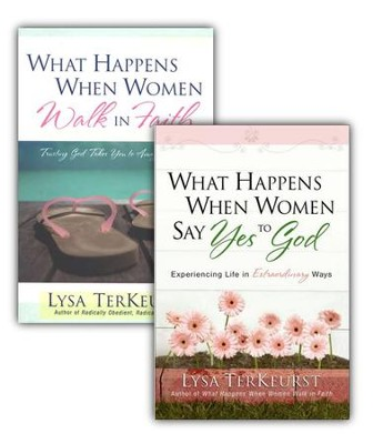 What Happens When Women Say Yes to God/What Happens When Women Walk in Faith, 2 Volumes  -     By: Lysa TerKuerst