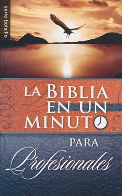 La Biblia en un Minuto para Profesionales  (One-Minute Pocket Bible for Business Professionals)  -     By: Mike Murdock