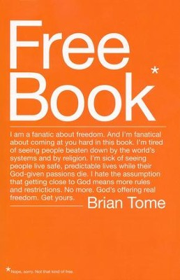 Free Book  -     By: Brian Tome