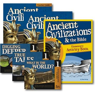Ancient Civilizations & the Bible: Full Family Curriculum Pack  -     By: Diane Waring