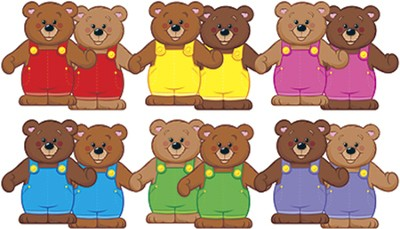 Linking Bears Classic Accents Variety Pack (Large Size)  -