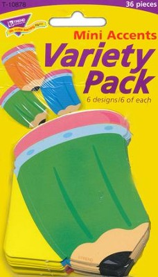 Pencils Mini Classic Accents Variety Pack  -