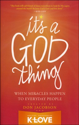 It's a God Thing    -     By: Don Jacobson