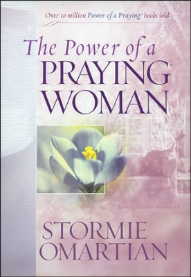 The Power of a Praying Woman Deluxe Edition hard cover padded with ribbon  -     By: Stormie Omartian