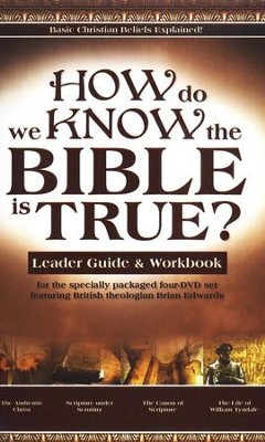 How Do We Know the Bible is True? Leader Guide &  Workbook  -     By: Brian Edwards