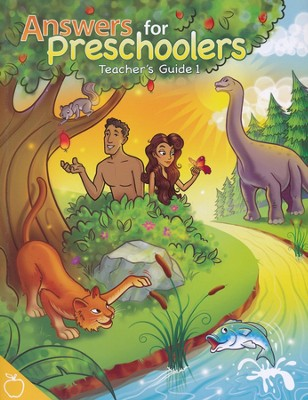 Answers for Preschoolers Teacher Guide 1   -
