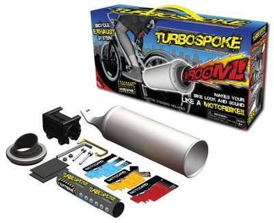 Turbospoke, Bicycle Exhaust  -