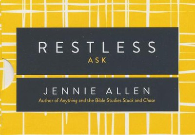 Restless, Conversation Card Deck  -     By: Jennie Allen