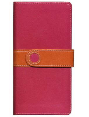 NIV Trimline Bible Limited Edition, Italian Duo Tone, Pink/Orange with Magnetic Closure 1984  -