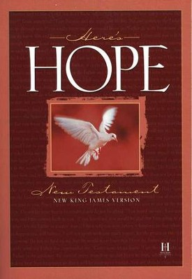 NKJV Here's Hope New Testament Paperback, case of 48  -