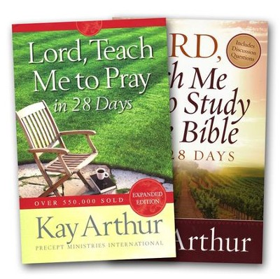 Lord, Teach Me in 28 Days--2 Volumes   -     By: Kay Arthur