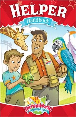 IncrediWorld Amazement Park Helper Handbooks (pack of 10)  -