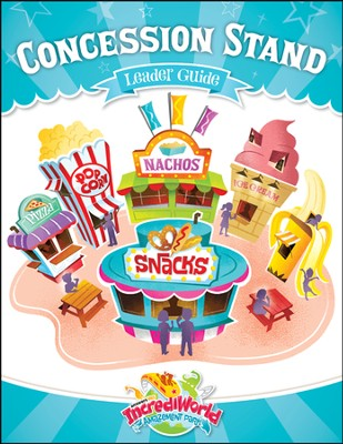 IncrediWorld Amazement Park Snacks Guide   -
