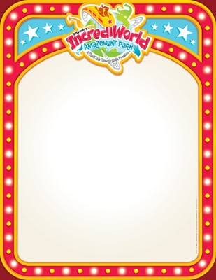IncrediWorld Amazement Park VBS Promotional Posters (Pack of 10)  -